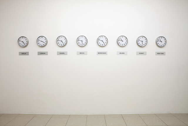 , 'Clocks,' 2014, Project Native Informant