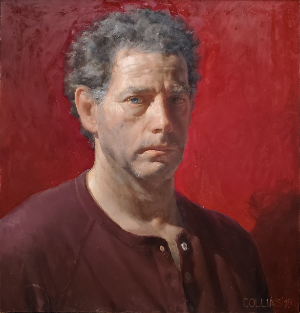Jacob Collins, 'Self-Portrait', 2019, Painting, Oil on canvas, Adelson Galleries