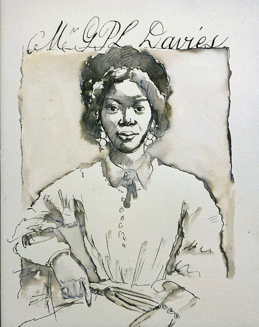, 'Mrs. G.P.L. Davies,' 2017, Pleiades Gallery