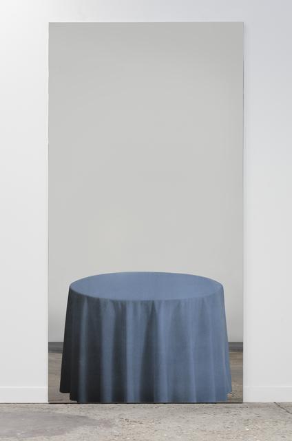 Michelangelo Pistoletto, 'Tavolo azzurro', 1982, Luhring Augustine