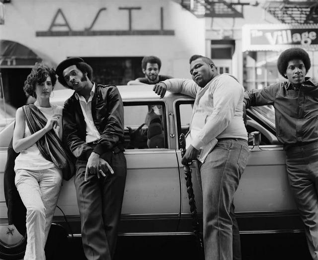 , 'Afrikka Bambaataa with crew,' 1983, Librairie 213