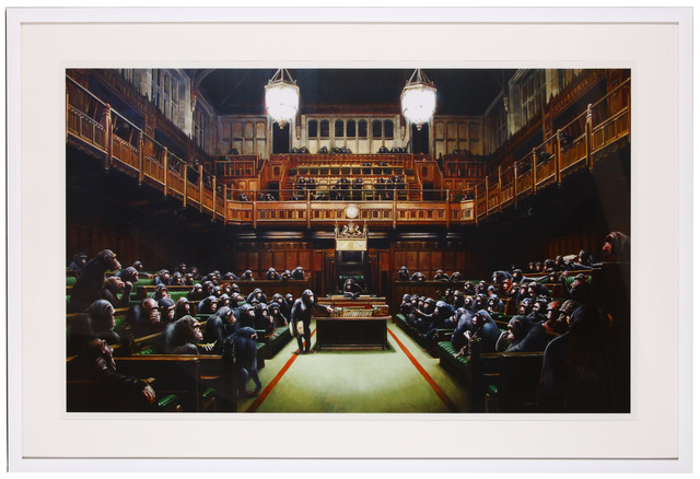 Banksy, 'Monkey Parliament', 2009, Chiswick Auctions