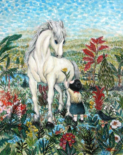 , 'Fantasy Jejuisland- island girl story,' 2016, galerie bruno massa