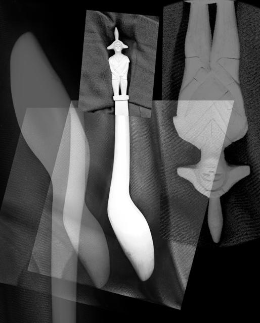 , 'Scanprint #07, dalla serie Misurazioni, Matera 1975 - Bergamo 2016,' 2016, MATÈRIA