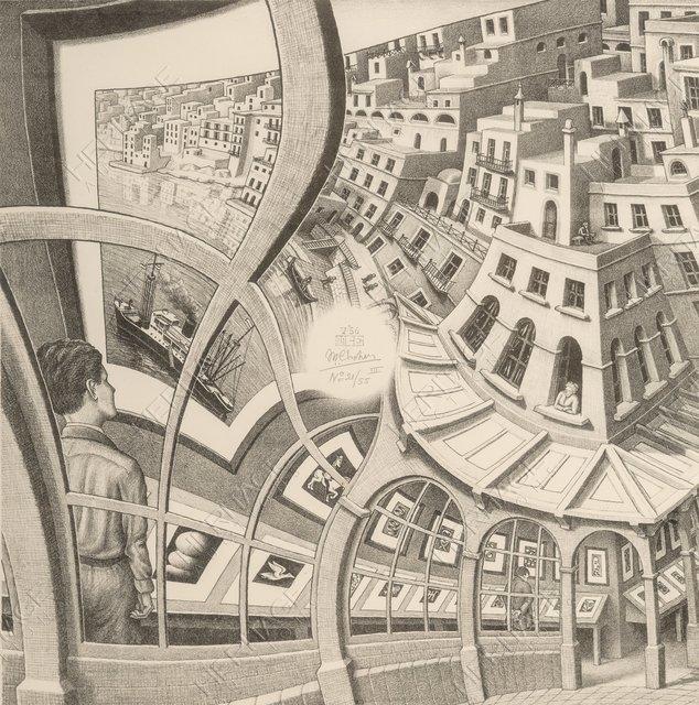 M C Escher Print Gallery 1956 Artsy