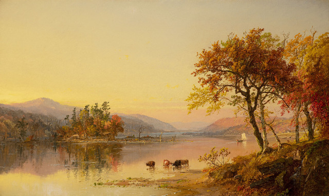 , 'Autumn Afternoon, Greenwood Lake,' 1873, Somerville Manning Gallery