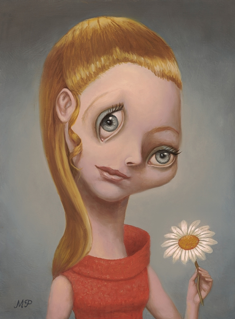 , 'Girl With a Daisy,' 2018, Dorothy Circus Gallery