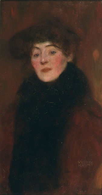 , 'Woman with Fur Collar,' 1897, Galerie St. Etienne