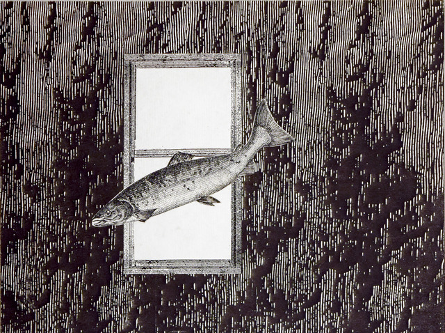 , 'Phantom Canyon (fish flying by window),' , Robischon Gallery