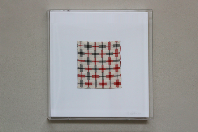 , 'White, Grey, Red Increasing/Diminishing Bands,' 1984, New Art Centre