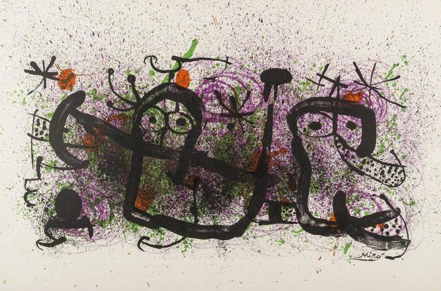Joan Miró, 'Ma de Proverbis', 1970, Hans den Hollander Prints