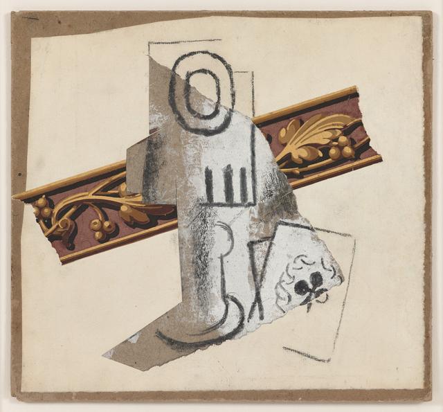 , 'Verre et carte à jouer,' 1914, Galerie Michael Haas