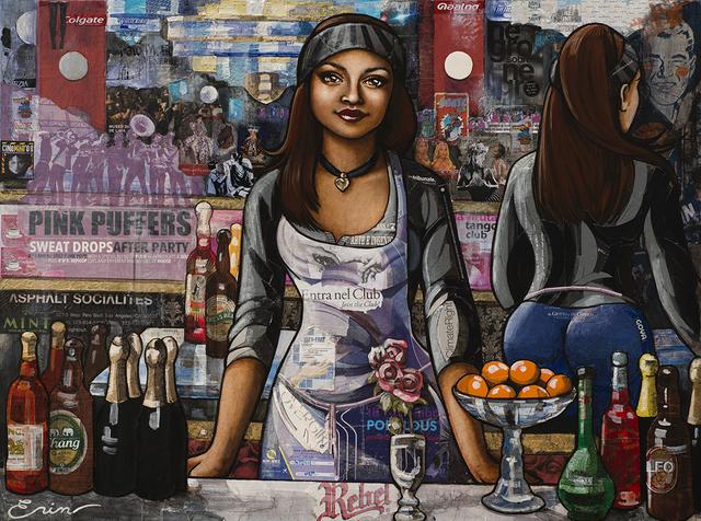 , 'Denisa the Barista Napolitana (after Manet) ,' 2018, Blue Rain Gallery