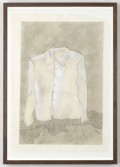 , 'White Shirt and Hills,' 2017, Galerie Fons Welters