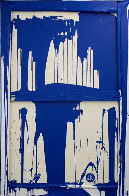 , 'Unification (Yves Klein Blue Dip),' 2017, Ethan Cohen New York