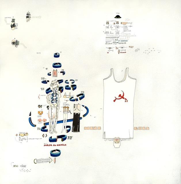 , 'Soror alchemica, dressed in a centipede suit,' 1970, Galleria il Ponte