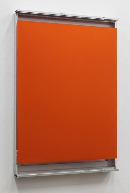 , 'Orange Glass Window #1,' 2014, Galeria Mário Sequeira