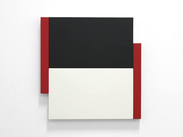 , 'Poles Red, Black, White,' , Peter Blake Gallery