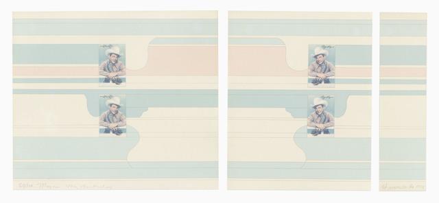 Hannah Wilke, 'Roy Rogers', 1974, Print, Silkscreen, LaiSun Keane