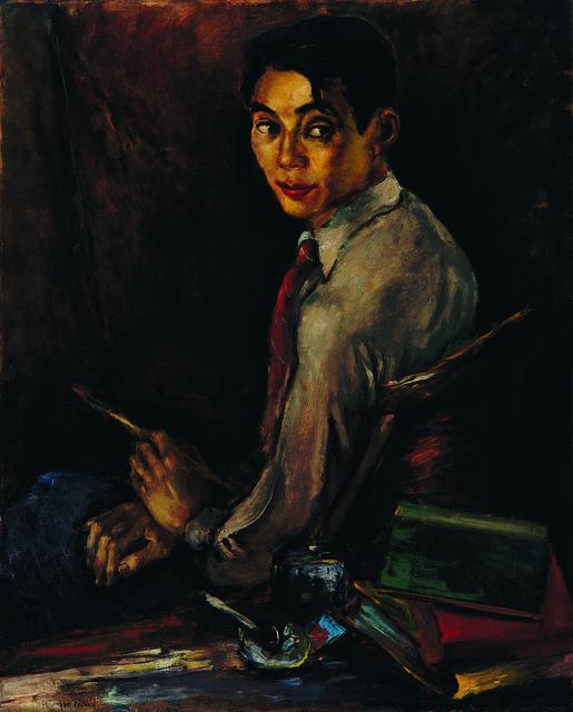, 'Self-Portrait,' 1940, Tina Keng Gallery