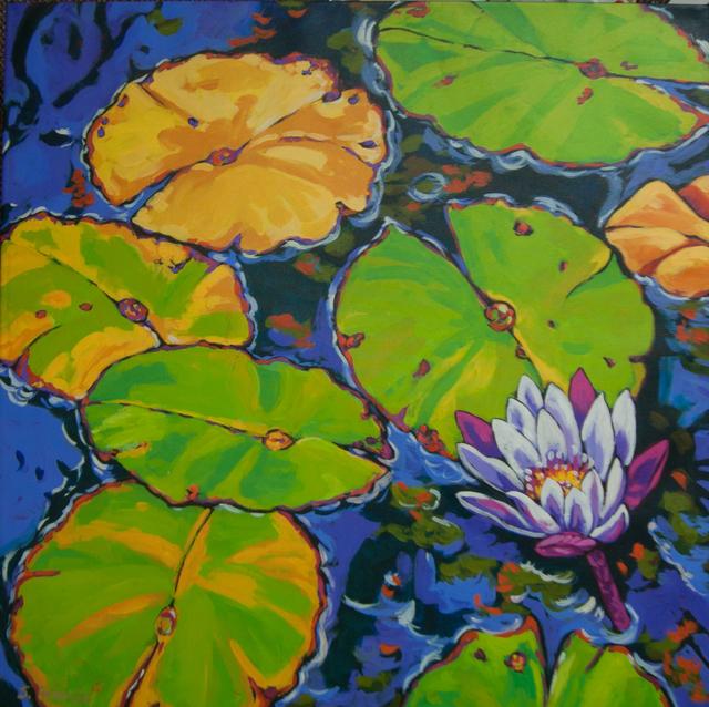Sally Evans, 'Lilies Dance in Light', 2016, Baterbys Art Gallery