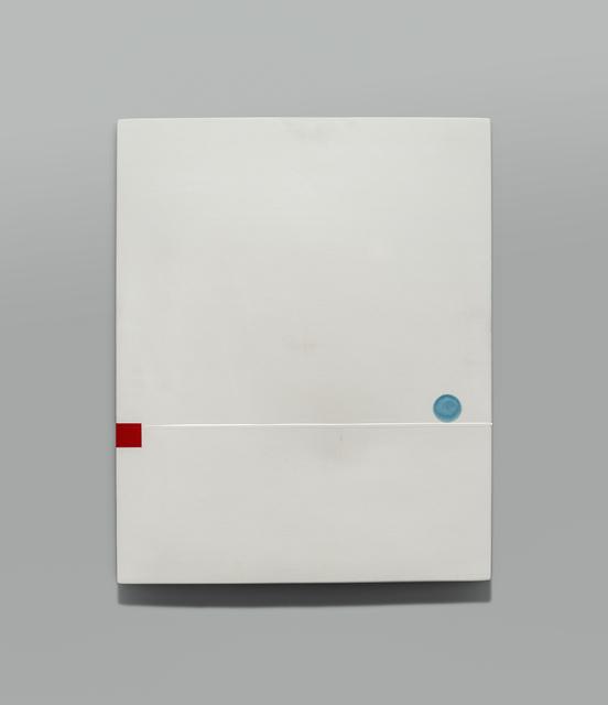 , 'UNTITLED (RAKU WALL SLAB),' 2016, Traver Gallery