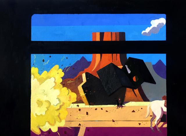 , 'Train Robbery , Scene 3,' 2016, Project: ARTspace