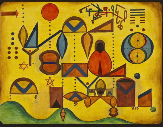, 'Grafía,' 1958, Galería Rubbers Internacional