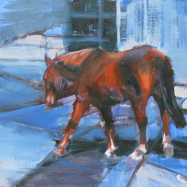 , 'Equine Interchange,' 2015, Abend Gallery