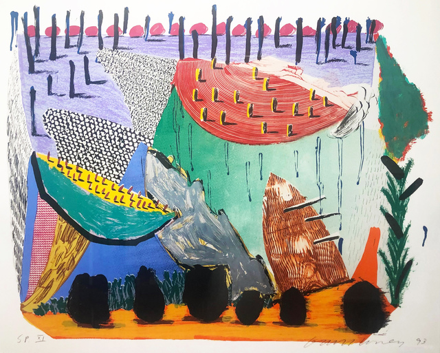 David Hockney, 'Slow Rise ', 1993, Frestonian Gallery
