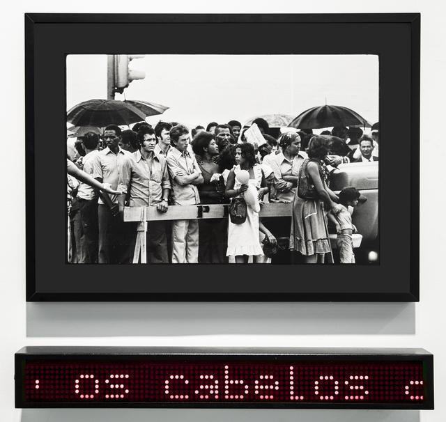 , 'Atenção I,' 1980, Bolsa de Arte