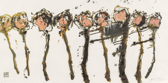 , 'Golden Plum Blossoms,' 2008, Alisan Fine Arts