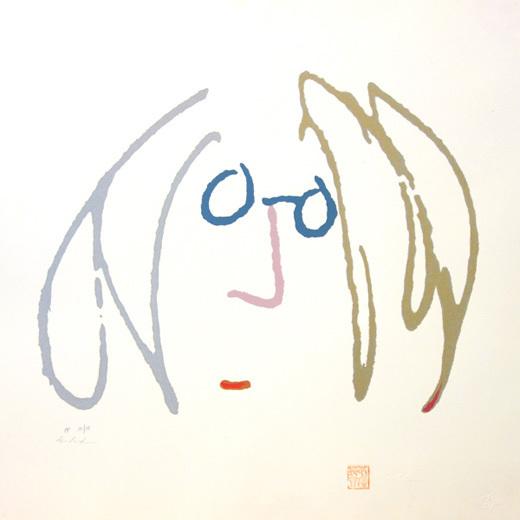 John Lennon, 'Self portrait suite winter', 1990, Gallery TAGBOAT