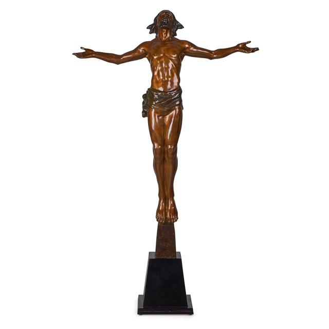 Frederick Hart, 'Christ Rising', 1998, Sculpture, Bronze on base, Rago/Wright