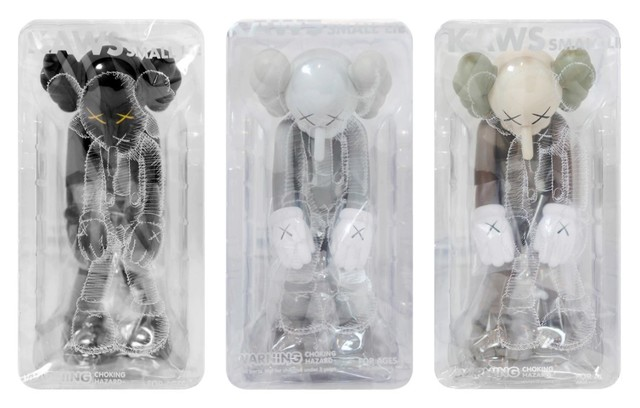 KAWS, 'Small lie (set of 3)', 2017, Digard Auction