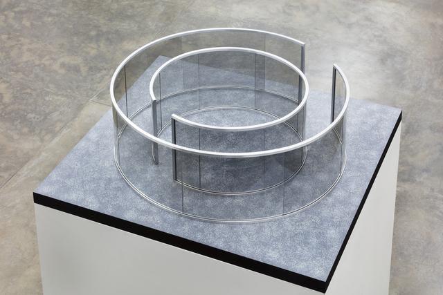 Dan Graham, 'Untitled', 2016, Installation, 2-way mirror glass, aluminium, MDF and acrylic, Nara Roesler