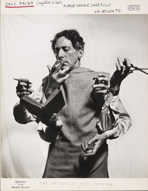 , 'Philippe Cocteau l'Artiste Multidisciplinaire (Philippe Cocteau the Multidisciplinary Artist),' 1949, Kunsthal Rotterdam
