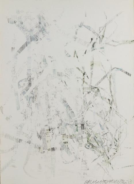 Robert Rauschenberg, 'Noname (Elephant)', 1973, Print, Lithograph, Heather James Fine Art Gallery Auction