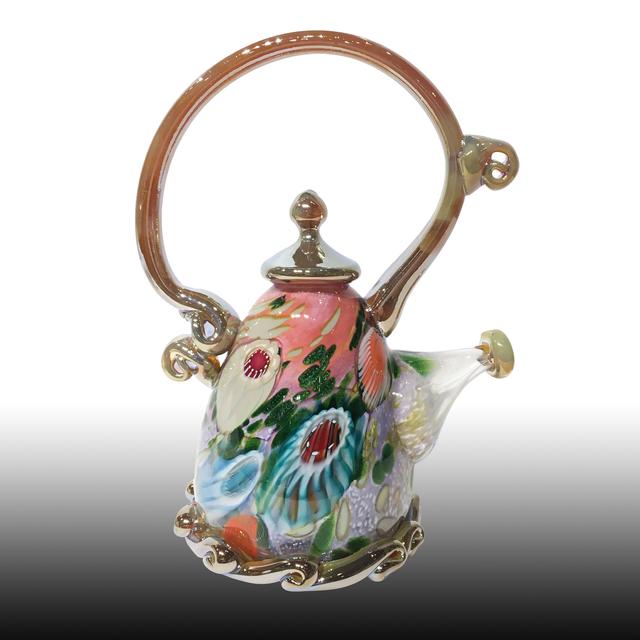 Paul Counts, 'Pink & Lavender Jewel Tone Teapot ', 2018, Lotton Gallery