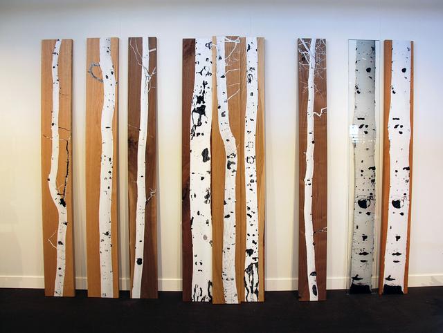 , 'Aspen Panels,' 2016, Cristina Grajales Gallery