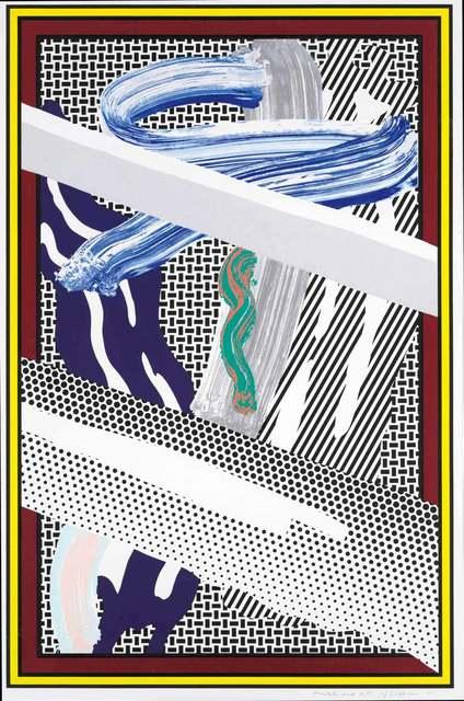 Roy Lichtenstein, 'Reflections on Expressionist Painting', 1990, Graeme Jackson