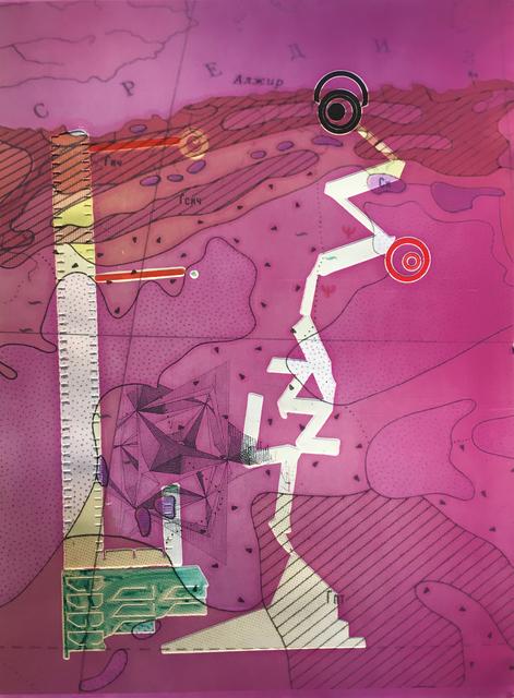 , 'Mauve Sensing Green (I can See Russia),' 2016, Bruno David Gallery & Bruno David Projects
