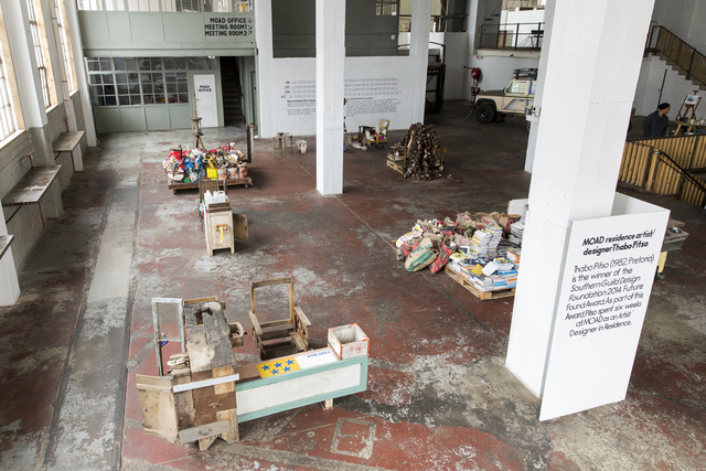 , 'Scrap for Cash exhibition,' 2015, Museum of African Design (MOAD)