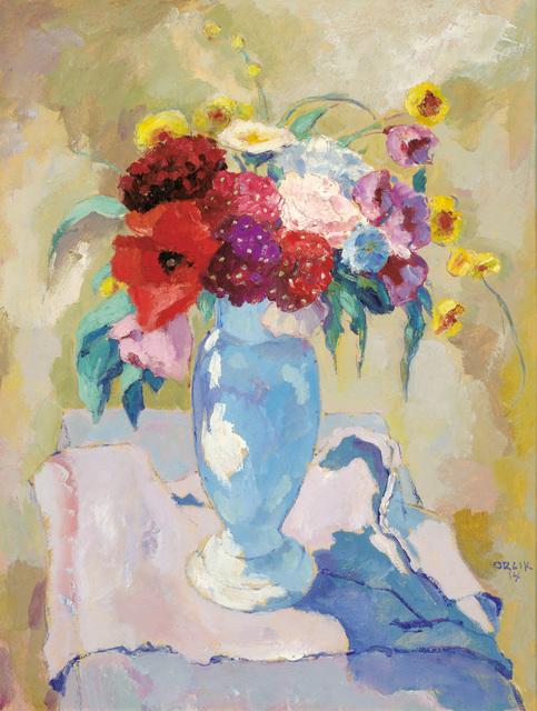 , 'Flowers in the sun,' 1914, Galerie Kovacek