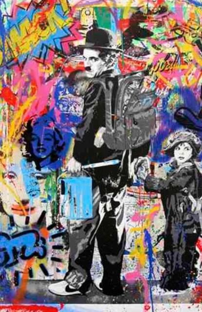 Mr. Brainwash, 'Just Kidding', 2016, Robin Rile Fine Art
