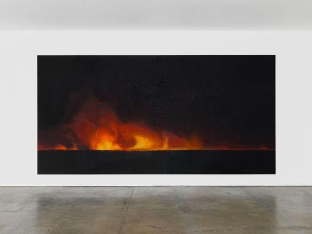 , 'Fire (America) 5,' 2017, Lehmann Maupin