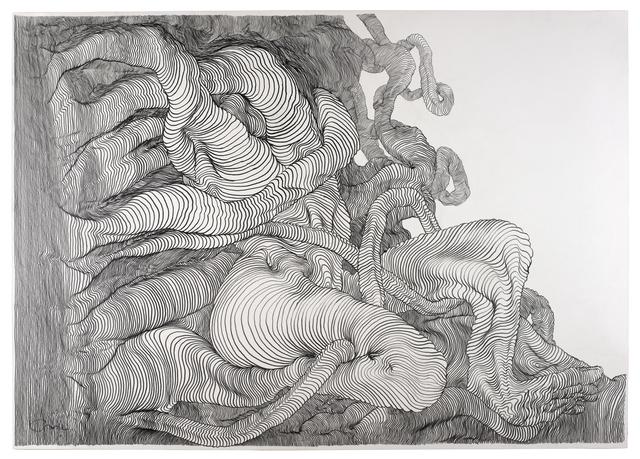 , 'Graphite #7,' 2012, V1 Gallery