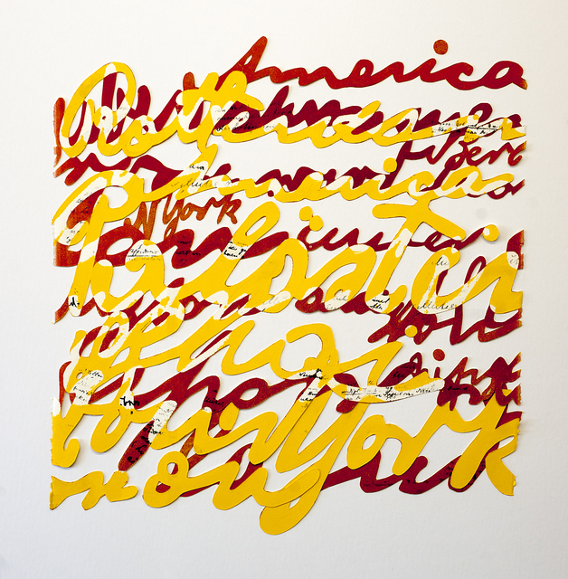 , 'Power of Words 5,' 2015, Bruno David Gallery & Bruno David Projects