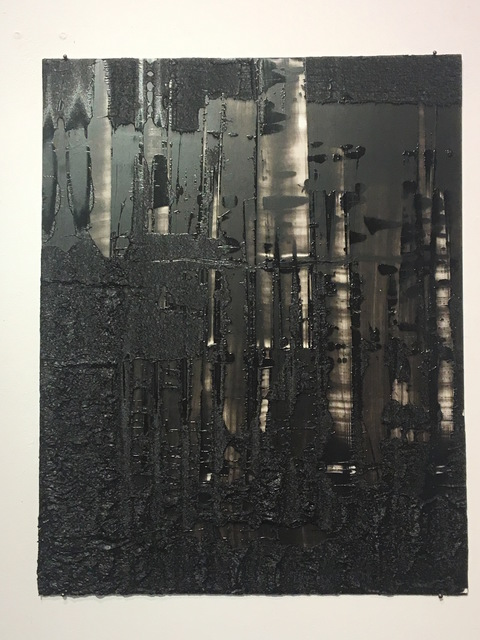 , 'ville noire 1,' 2017, galerie burster