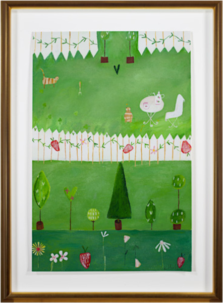 , 'Green Grass, Picket Fence KMH 008,' 2005, David Barnett Gallery